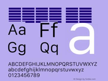 系统字体 细体 12.0d5e4 Font Sample