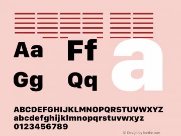 系统字体 粗体 12.0d5e4 Font Sample
