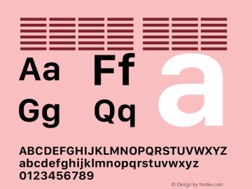 系统字体 半粗体 12.0d5e4 Font Sample