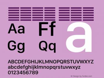 系统字体 中等体 12.0d5e3 Font Sample