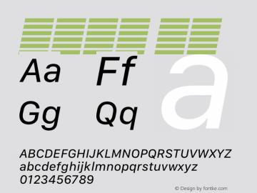 系统字体 斜体 12.0d5e4 Font Sample