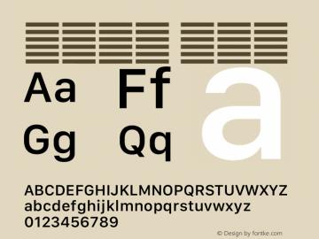 系统字体 中等体 12.0d5e4 Font Sample