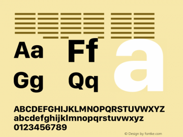系统字体 粗体 12.0d5e3 Font Sample