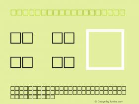 MD_Diwani_2 Regular Glyph Systems 10-jun-93 Font Sample