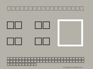 MD_Kufi_12 Regular Glyph Systems 10-jun-93图片样张
