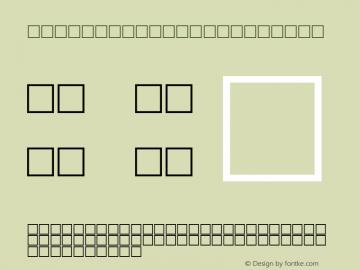 MD_Headline_11 Regular Glyph Systems 10-jun-95 Font Sample