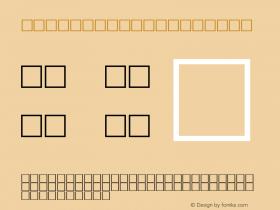 MD_Jadid_12 Regular Glyph Systems 50-jun-95 Font Sample