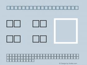 MD_Jadid_14 Regular Glyph Systems 20-jun-95图片样张