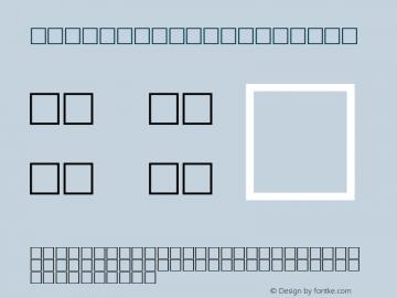 MD_Jadid_14 Regular Glyph Systems 20-jun-95 Font Sample