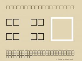 MD_Jadid_16 Regular Glyph Systems 10-jun-93 Font Sample