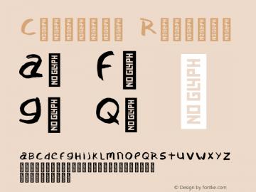 Confused Regular Version 1.000;PS 001.000;hotconv 1.0.88;makeotf.lib2.5.64775 Font Sample