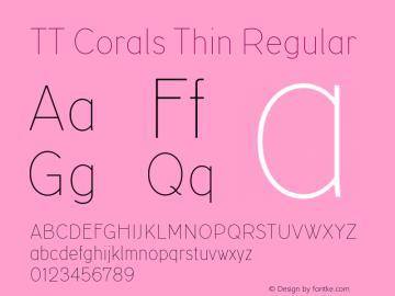 tt corals thin demo