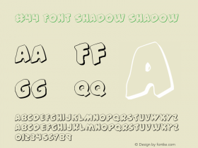 #44 Font Shadow Shadow 2图片样张