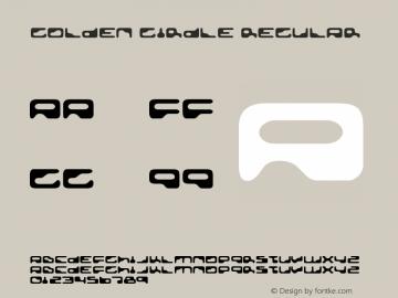 Golden Girdle Regular Version 3.001 Font Sample