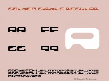 Golden Girdle Regular OTF 3.000;PS 001.001;Core 1.0.29 Font Sample