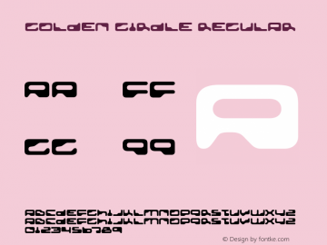 Golden Girdle Regular Version 4.002 Font Sample