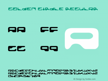 Golden Girdle Regular Version 3.001 Font Sample