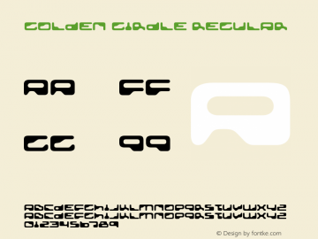 Golden Girdle Regular Version 4.000 Font Sample