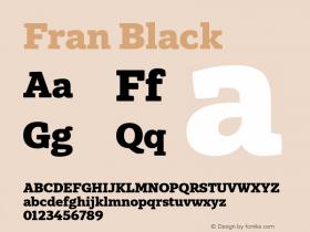 Fran Black Version 1.001图片样张