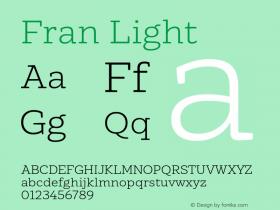 Fran Light Version 1.001图片样张