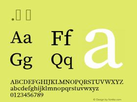 .  Version 1.014;PS 1.0;hotconv 1.0.73;makeotf.lib2.5.5900 Font Sample