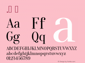 .  Version 1.001; ttfautohint (v0.91) -l 8 -r 50 -G 200 -x 0 -w