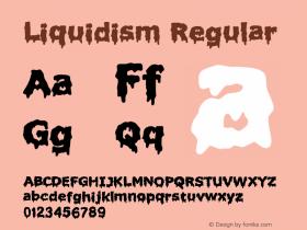 Liquidism Regular 2图片样张