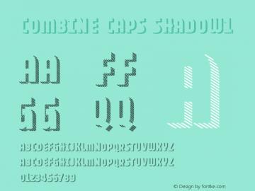 Combine Caps Shadow1 Version 1.000图片样张