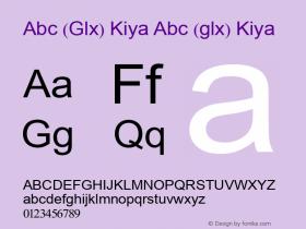Abc (Glx) Kiya Abc (glx) Kiya Abc (Glx) Kiya图片样张
