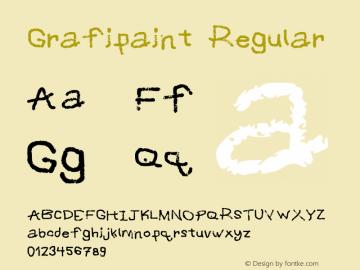 Grafipaint Regular Version 2图片样张