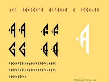 LHF Monogram Diamond 1 Regular (1.5) #License#;com.myfonts.easy.letterheadfonts.lhf-monogram-diamond.diamond-1.wfkit2.version.4y1X Font Sample
