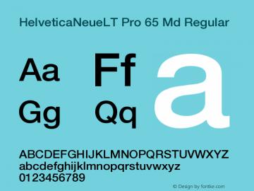 HelveticaNeueLT Pro 65 Md Regular Version 1.000;PS 001.000;hotconv 1.0.38图片样张