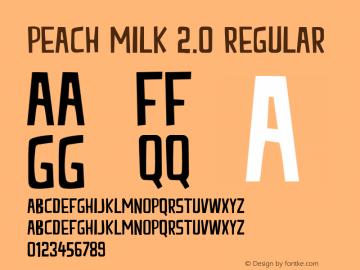 Peach Milk 2.0 Regular Version 001.000图片样张