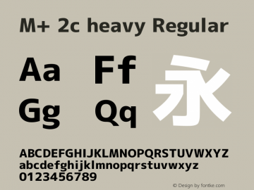 M+ 2c heavy Regular Version 1.062图片样张