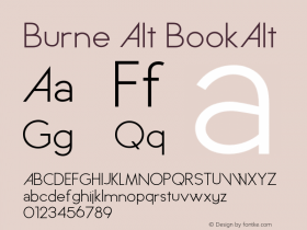 Burne Alt BookAlt Version 1.00 2013图片样张