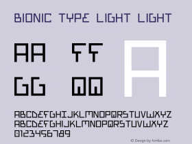 Bionic Type Light Light Version 1图片样张