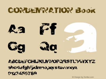 CONDEMNATION Book Version 1.00图片样张