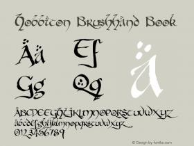 Hobbiton Brushhand Book Version 001.000图片样张