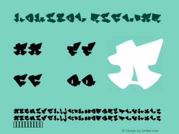 Homeboy Regular 1.00 Font Sample