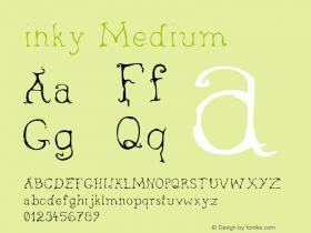inky Medium Version 001.000图片样张
