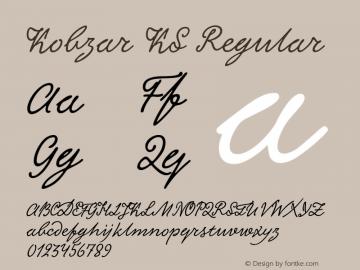 Kobzar KS Regular Version 1.020 Font Sample