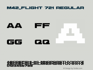 M42_FLIGHT 721 Regular Version 1.00图片样张
