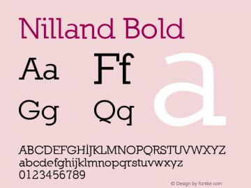 Nilland Bold 1.0 2005-03-11图片样张