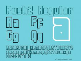 Push2 Regular 2001; 1.0, initial release图片样张