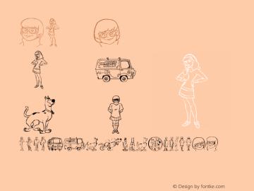 ScooBats Regular Version 1.00 Font Sample