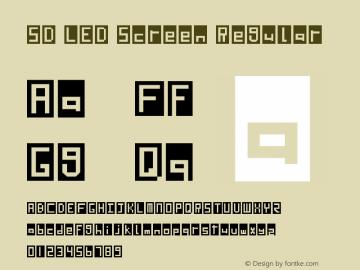 SD LED Screen Regular Version 1.0图片样张