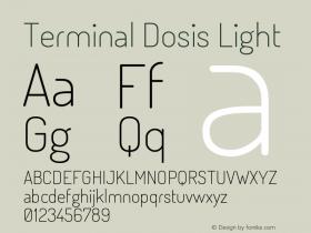 Terminal Dosis Light Version 1.005图片样张