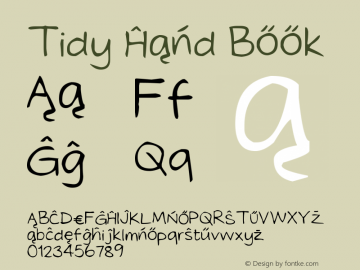 Tidy Hand Book Version 1.00 February 10, 20图片样张