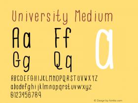 University Medium Version 001.000图片样张