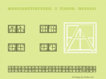 XperimentypoThree-B-Square Regular 1.0 Font Sample